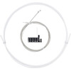 capgo OL Outer Brake Cable For Shimano / Sram ROAD & ATB / MTB white